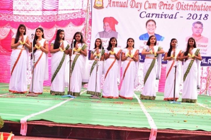 B R Adarsh Senior Secondary School-Annual day