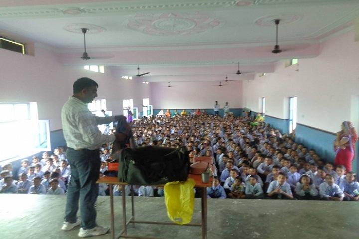 B R Adarsh Senior Secondary School-Magic show