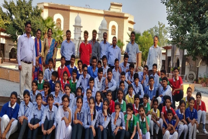 B R Adarsh Senior Secondary School-Tour