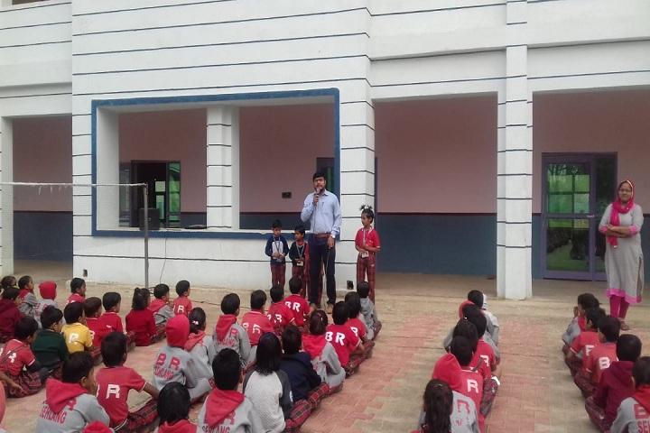 B R Adarsh Senior Secondary School-Workshop