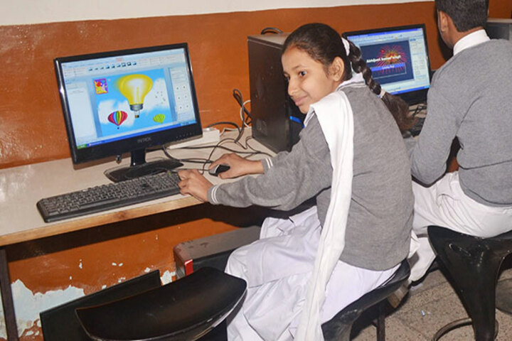 B R Public School-Computer Lab