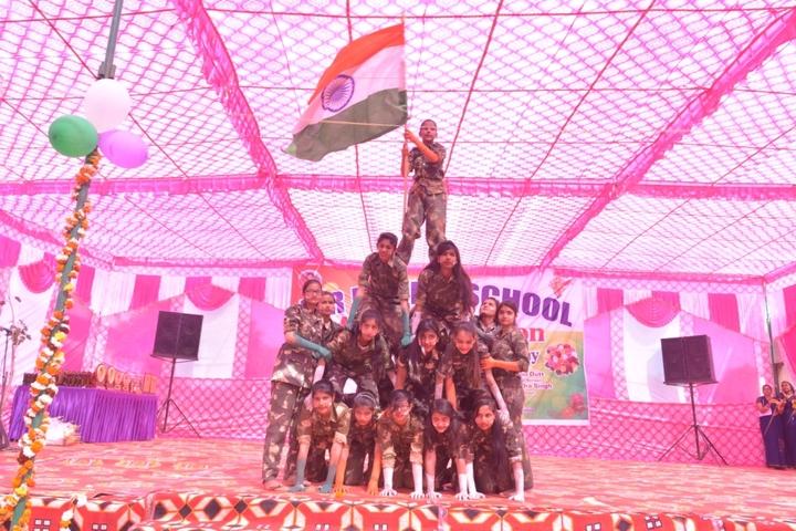 B R Public School-Human Pyramid