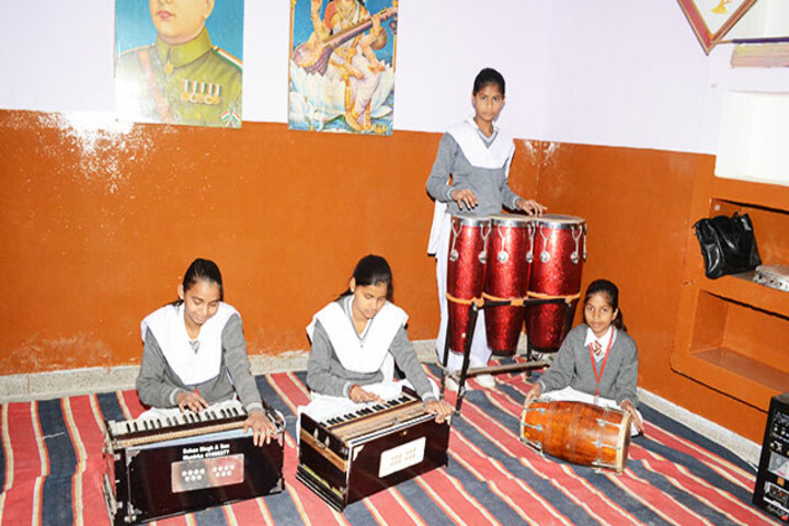B R Public School-Music Room