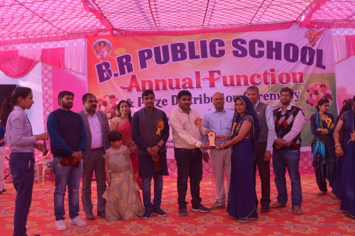 B R Public School-Prize Ceremony