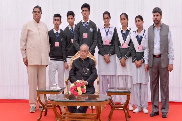 Brahm Shakti Senior Secondary School-Vist To Rastrapathi Bhavan