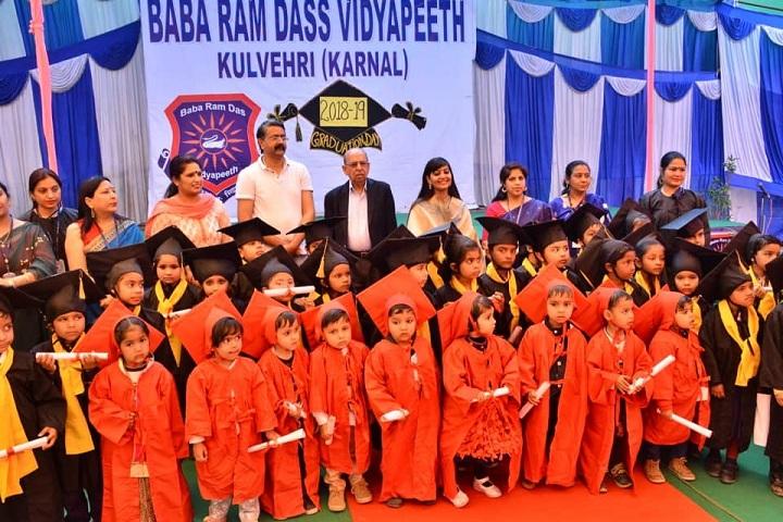 Baba Ram Das Vidyapeeth-Graduation  day