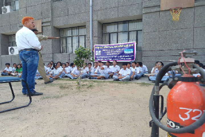 Bal Bharati Public School-Fire Safety class