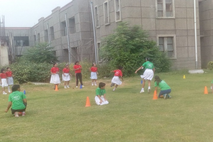 Bal Bharati Public School-Games Activity