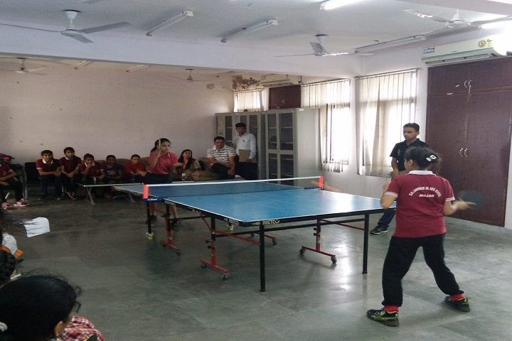 Bal Bharati Public School-Table Tennis Court