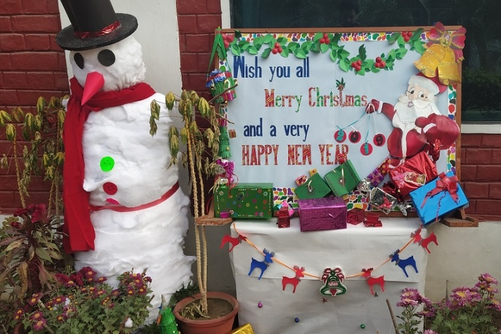Bal Bharti School-Christmas Celebrations
