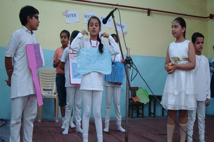Bal Bharti School-English skit