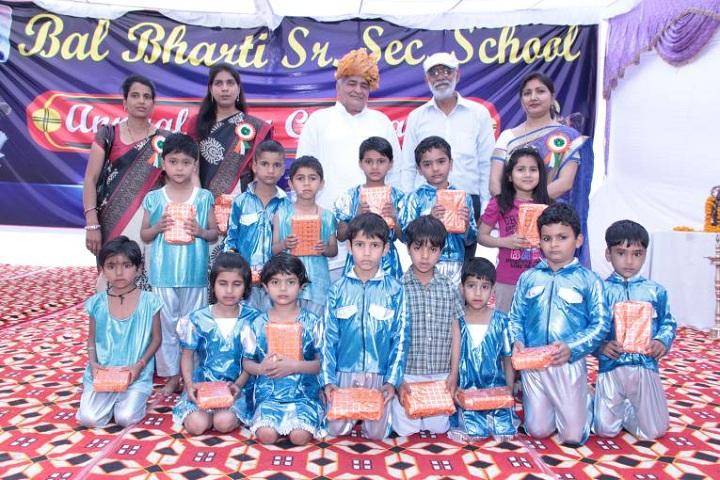 Bal Bharti Senior Seccondary School-Blue Day