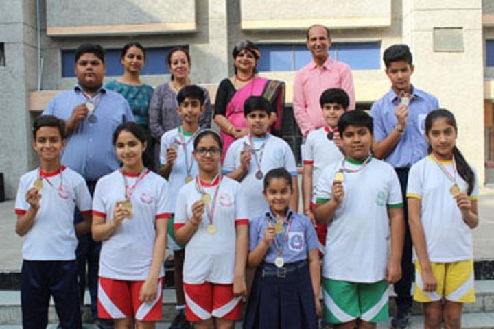 Bal Vikas Progressive School-Science olympaid winners