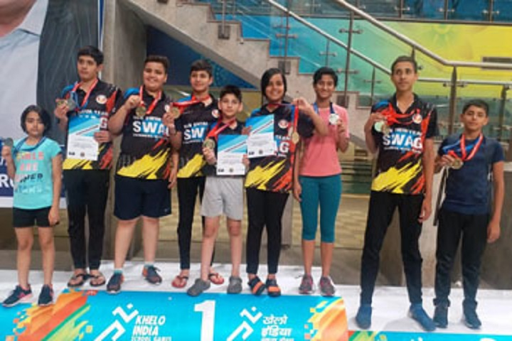 Bal Vikas Progressive School-Swimming Competition winners