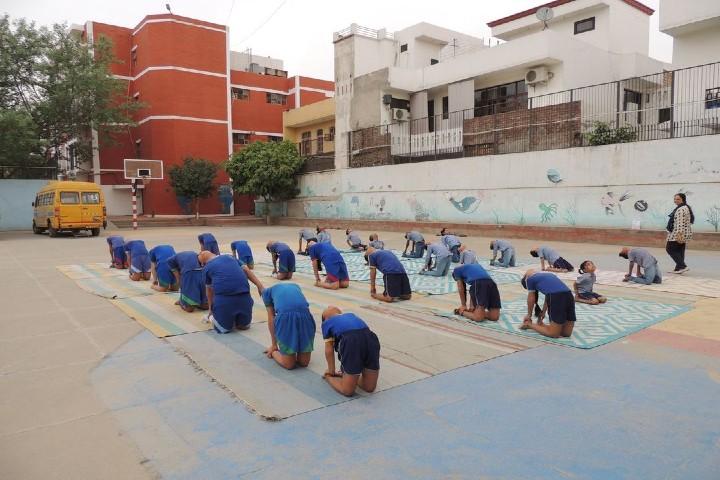 Bal Vikas School-yoga