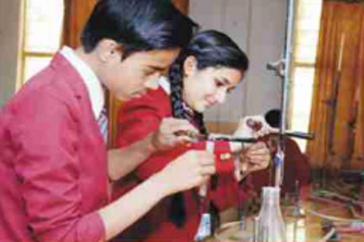 Balaji Public School-Chemistry-Lab