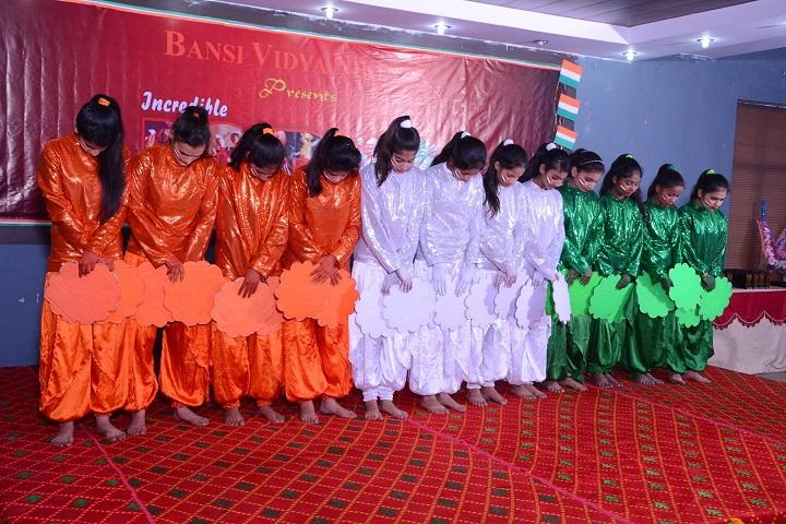 Bansi Vidya Niketan Senior Secondary School-Independence Day