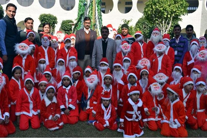 Bawani Khera Senior Secondary Public School-Christmas Celebrations
