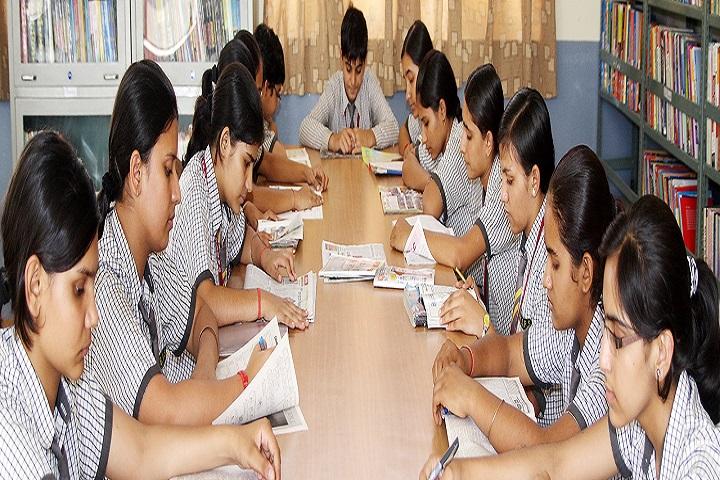 Bawani Khera Senior Secondary Public School-Library