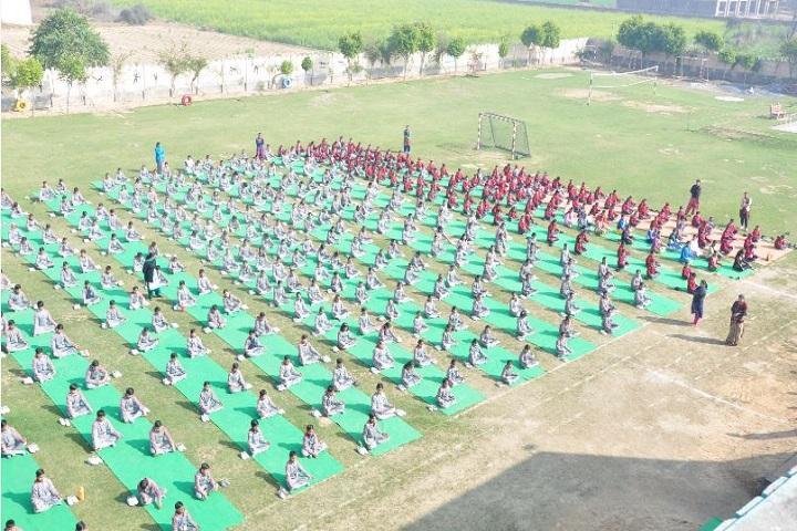 Bawani Khera Senior Secondary Public School-Yoga Day Celebrations