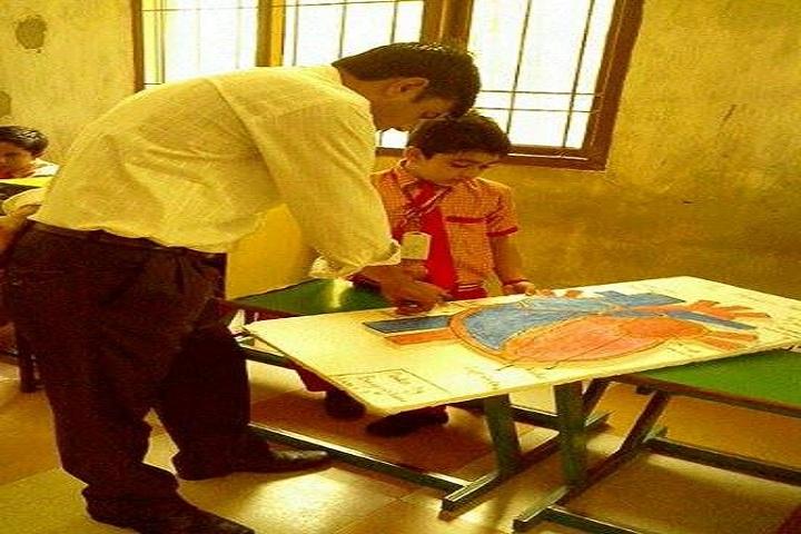 Bhagirath Public School-Classroom drawing