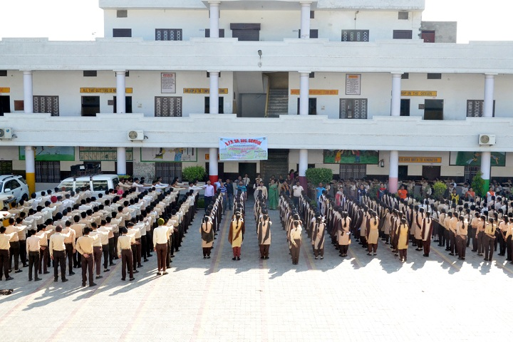 Bhagwan Parshuram Public School-Assembly