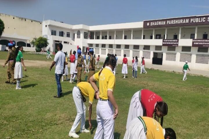Bhagwan Parshuram Public School-Swachh Bharat