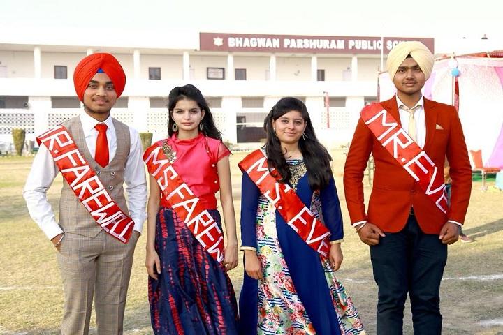 Bhagwan Parshuram Public School-Farewell