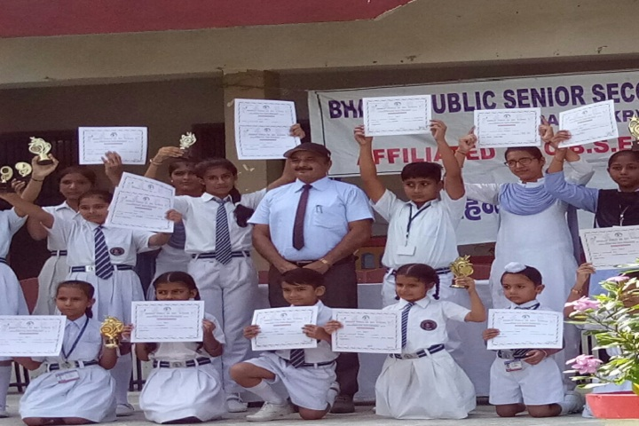 Bharat Public Senior Secondary School-Certificate