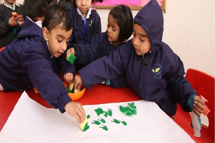 Bharat Ram Global School- Art and craft