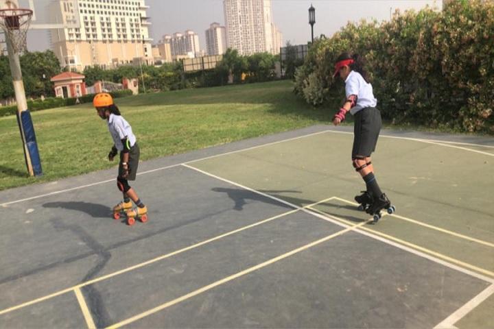Bharat Ram Global School- Skating