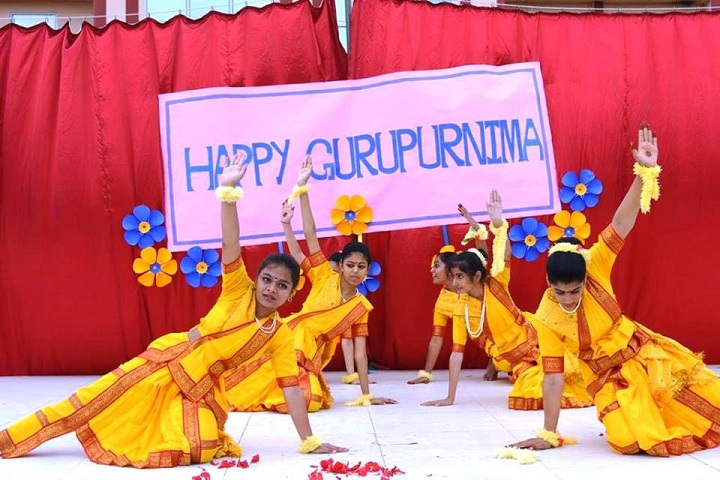 Bharti Public Senior Secondary School- Gurupurnima
