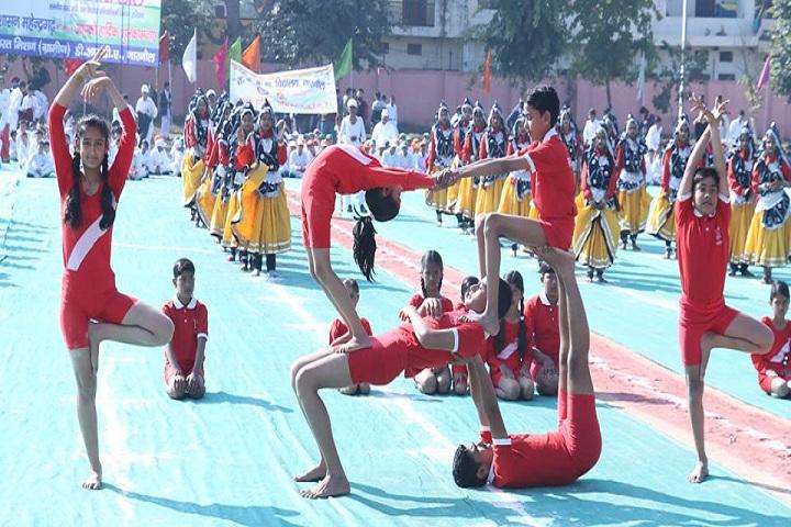 Bharti Public Senior Secondary School- Yoga Competition