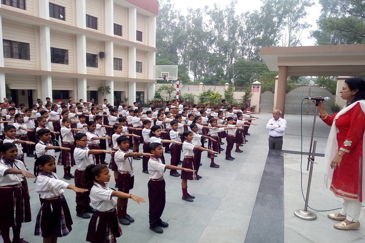 Bharatiya Public School- Assembly