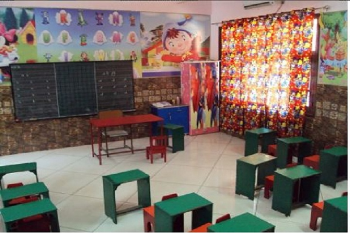 Bharatiya Public School- Classroom for nursery