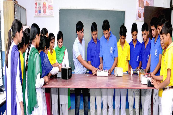 Bhartiya Vidya Niketan Senior Secondary School-Physics Laboratory