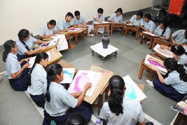 Blue Bells Model School-Arts