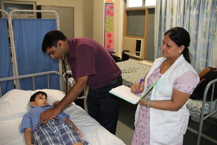 Blue Bell Public School-Medical Facility