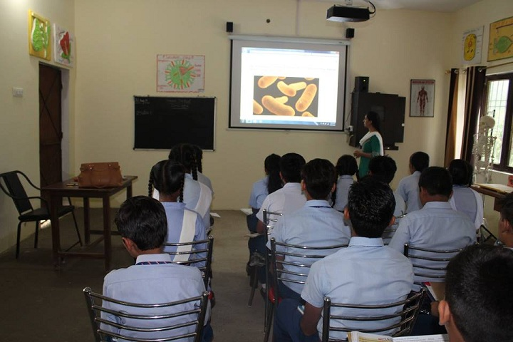 Blue Heaven Public School- biology lab