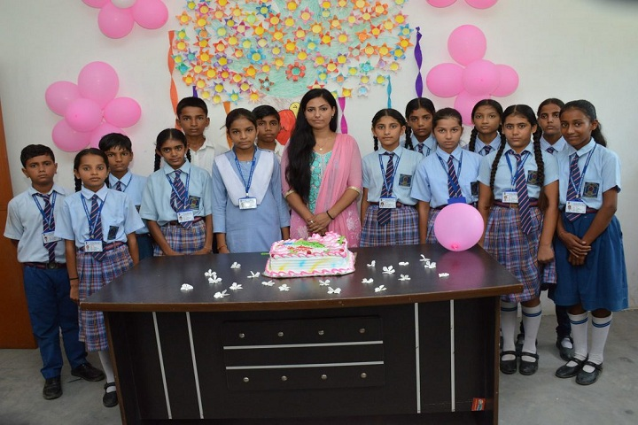 Blue Heaven Public School- teachers day celebration