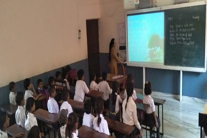 Brahamleen Swami Amar Devji Memorial Panch Tirth Public School-Smart Classroom