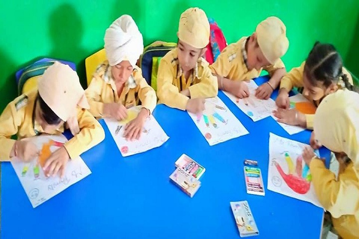 Bright Future Idyllic Akal Academy Senior Secondary School-Art Compitition