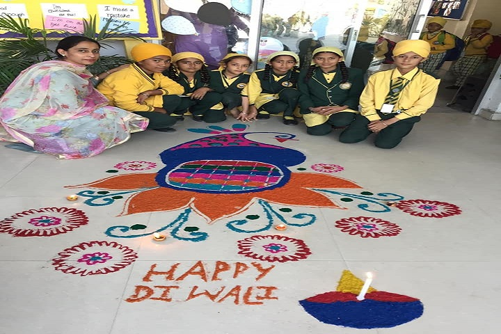 Bright Future Idyllic Akal Academy Senior Secondary School-Diwali Celebrations