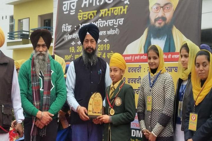 Bright Future Idyllic Akal Academy Senior Secondary School-Prize Distribution