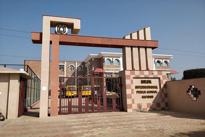 BRSK International Public School-Campus-View gate