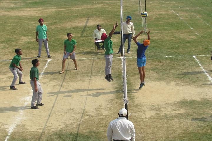 BRSK International Public School-Sports vollyball