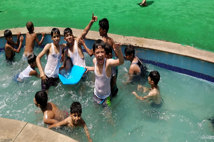 BRSK International Public School-Swimming Pool