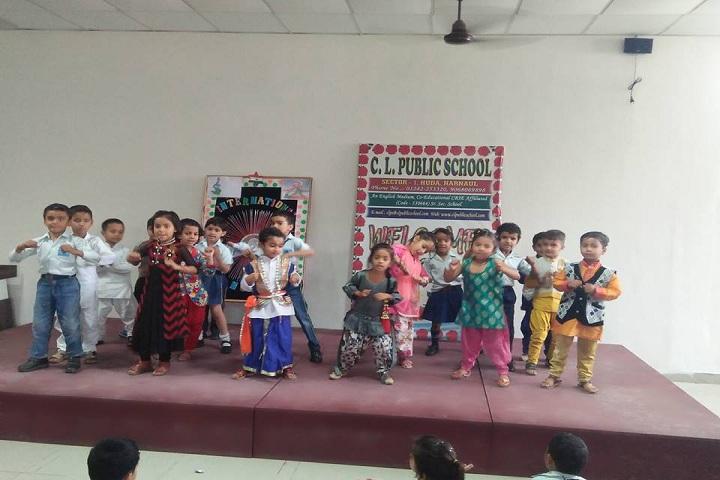 C L Public School-Dance day