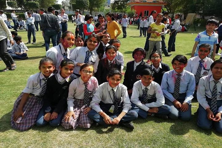 C L Public School-Holi Celebration