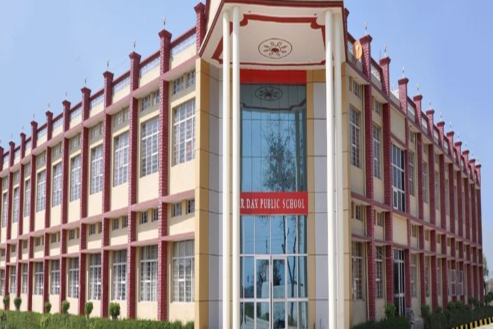 C R D A V Public Sen Sec School-School Building